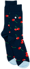 Blaue Alfredo Gonzales Socken CHERRY  - small