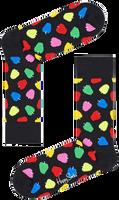 Schwarze HAPPY SOCKS Socken APPLE  - medium