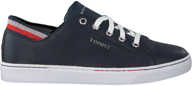 Blaue TOMMY HILFIGER Sneaker low GLITTER DETAIL CITY  - large