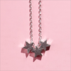 Silberne ALLTHELUCKINTHEWORLD Kette FORTUNE NECKLACE THREE STARS - small