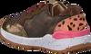 Bronzefarbene SHOESME Sneaker ST9W033  - small
