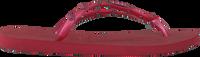 Rote HAVAIANAS Zehentrenner SLIM HARDWARE - medium
