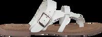 Weiße LAZAMANI Pantolette 75.608  - medium