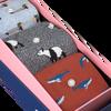 Mehrfarbige/Bunte Alfredo Gonzales Socken ANIMALS BOX  - small