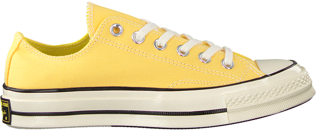 Gelbe CONVERSE Sneaker CHUCK 70 OX  - large