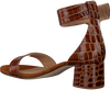 Cognacfarbene UNISA Sandalen GINA  - small