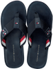 Blaue TOMMY HILFIGER Pantolette ELEVATED TH BEACH  - small