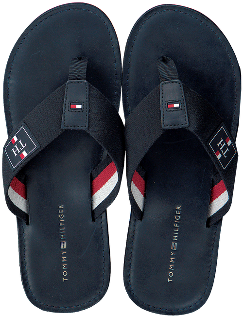 Blaue TOMMY HILFIGER Pantolette ELEVATED TH BEACH  - large