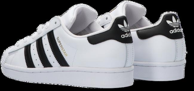 Weiße ADIDAS Sneaker low SUPERSTAR J  - large