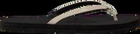 Schwarze INDOSOLE Zehentrenner FLIP FLOP COLOR COMBO  - medium