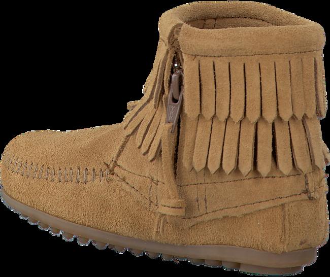 Camelfarbene MINNETONKA Ankle Boots 2297T - large