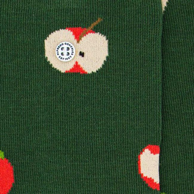 Grüne Alfredo Gonzales Socken APPLES  - large