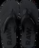 Schwarze G-STAR RAW Pantolette LOAQ  - small