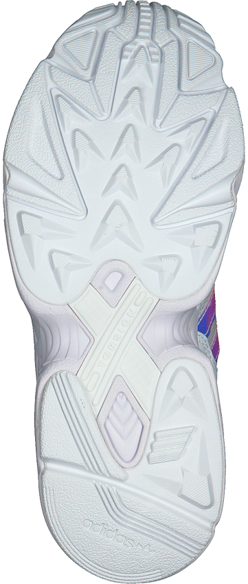 Weiße ADIDAS Sneaker YUNG-96 J  - larger