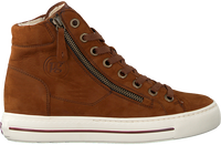 Cognacfarbene PAUL GREEN Sneaker high 4024  - medium
