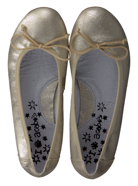 Goldfarbene ACEBO'S Ballerinas 6006 - large