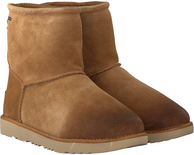 Cognacfarbene UGG Ankle Boots CLASSIC TOGGLE WATERPROOF - large