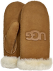 Braune UGG Handschuhe LOGO MITTEN - small