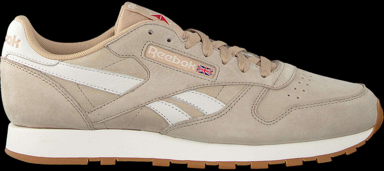 Beige REEBOK Sneaker CL LEATHER TL MEN