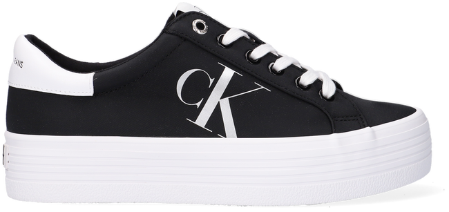 Schwarze CALVIN KLEIN Sneaker low VULCANIZED FLATFORM LACEUP  - large