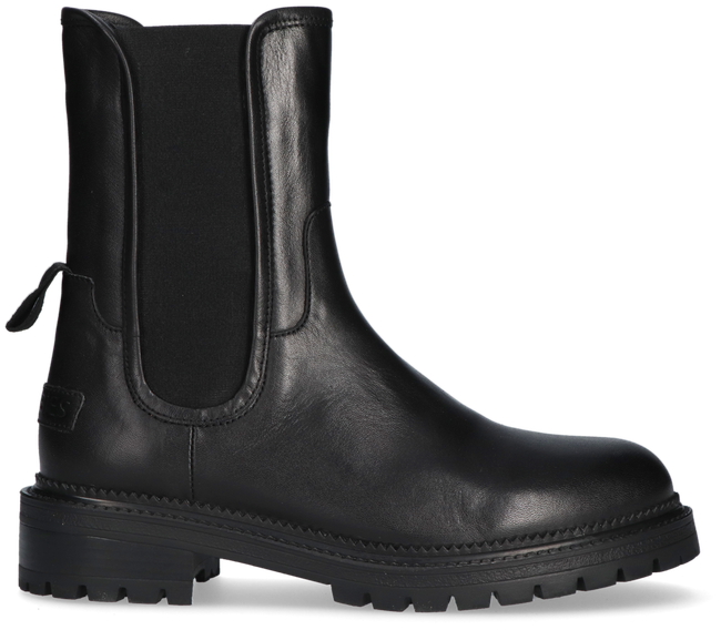 Schwarze SHABBIES Ankle Boots 182020279  - large