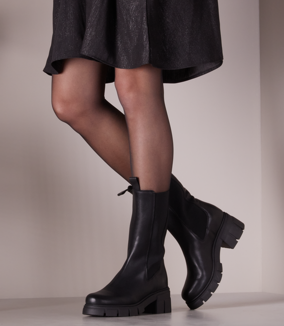 Schwarze OMODA Chelsea Boots SIMMA  - large