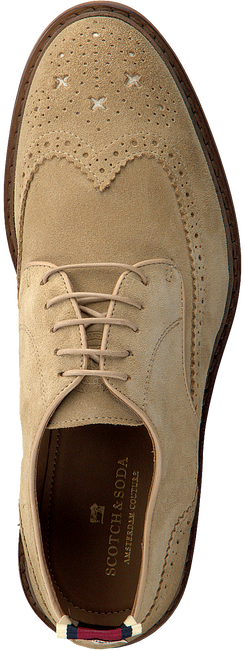 Beige SCOTCH & SODA Business Schuhe MERAPI  - large