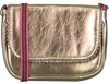 Goldfarbene LE BIG Umhängetasche TAZA BAG  - small