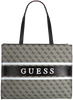 Graue GUESS Handtasche MONIQUE TOTE  - small