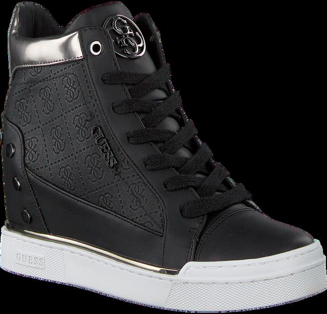 Schwarze GUESS Sneaker FINLY  - large