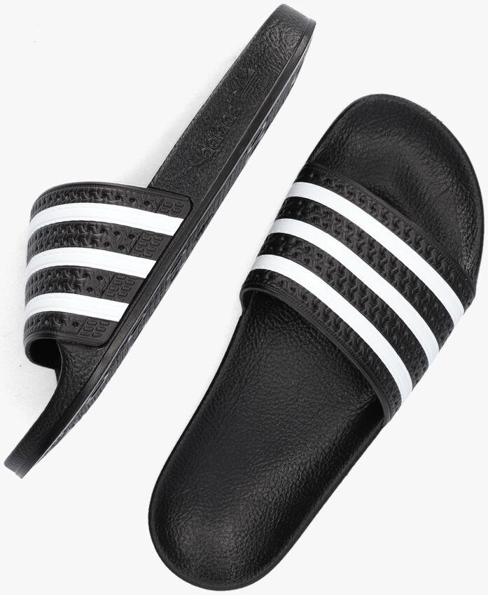 Schwarze ADIDAS Pantolette ADILETTE DAMES  - larger