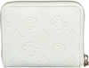 Weiße GUESS Portemonnaie LOGO LOVE SLG  - small