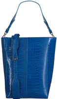 Blaue HVISK Shopper CASSET CROCO  - medium