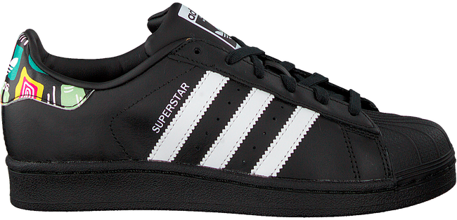 Schwarze ADIDAS Sneaker SUPERSTAR J  - large