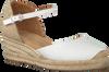 Weiße UNISA Espadrilles CISCA - small