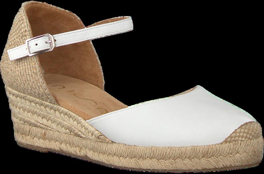 Weiße UNISA Espadrilles CISCA - larger