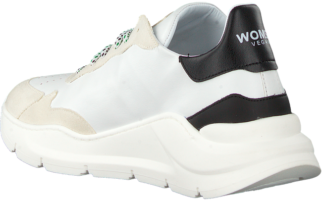 Weiße WOMSH Sneaker low VEGAN  - large