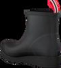 Schwarze HUNTER Gummistiefel PLAY BOOT SHORT - small