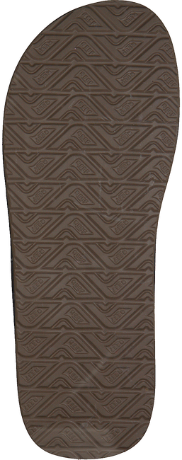 Braune REEF Pantolette CONTOURED CUSHION  - large