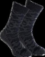 Graue MARCMARCS Socken RED BOSTON COTTON - medium