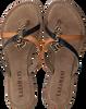 Braune LAZAMANI Pantolette 75.644  - small