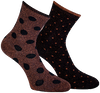 Braune MARCMARCS Socken MAYA  - small