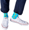Mehrfarbige/Bunte HAPPY SOCKS Socken VOLCANO  - small