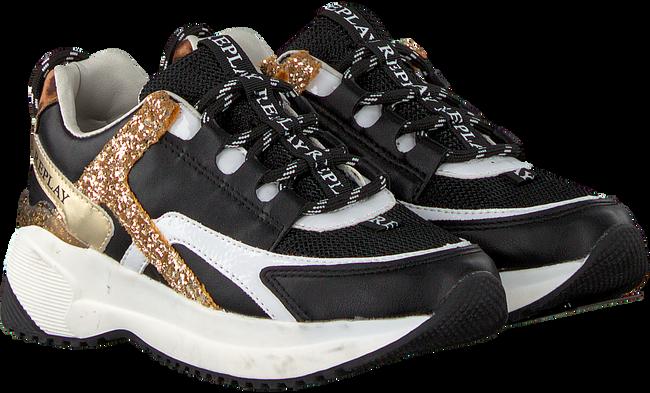 Schwarze REPLAY Sneaker KUMI  - large