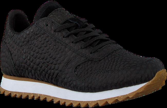 Schwarze WODEN Sneaker low YDUM CROCO II  - large