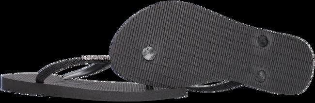 Schwarze HAVAIANAS Pantolette SLIM GLITTER  - large