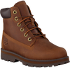 Cognacfarbene TIMBERLAND Schnürboots COURMA KID TRADITIONAL 6 INCH  - small