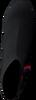 Schwarze TOMMY HILFIGER Stiefeletten KNITTED HEELED BOOT  - small