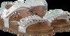 Goldfarbene CLIC! Sandalen 8969 - small