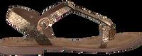Goldfarbene LAZAMANI Sandalen 75.501  - medium